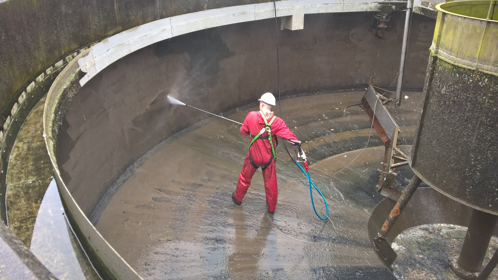 Water Tank Confined Space : Celvac waste removal specialist design and clea news